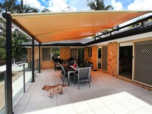 Crescent Shade Entertainment Area Cover Crescent Shade Sails Sunshine Coast Noosa