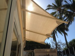 Crescent Shade Sails Sunshine Coast Noosa